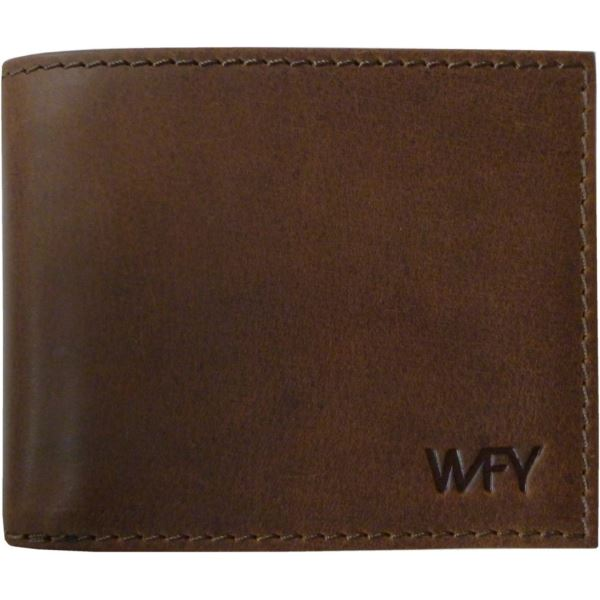 Pánská kožená peněženka WFY 444 tmavě hnědá
