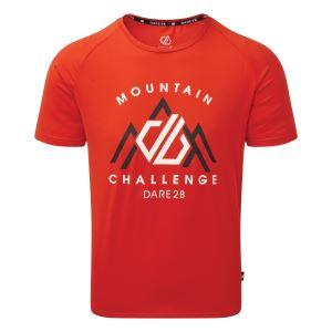 Pánské tričko Dare2b RIGHTEOUS II Tee červená