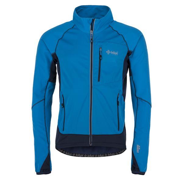 Pánská technická strečová bunda KILPI NORDIM-M modrá (kolekce 2019)