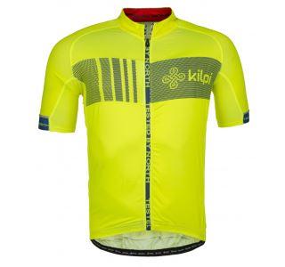 Pánský cyklistický dres  KILPI CHASER-M žlutá (kolekce 2018)