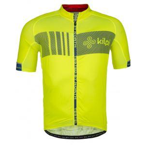 Pánský cyklistický dres  KILPI CHASER-M žlutá