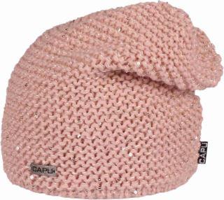 Dámská zimní čepice CAPU 422 růžová