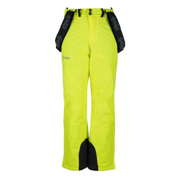 Dětské lyžařské kalhoty KILPI MIMAS-JB žlutá