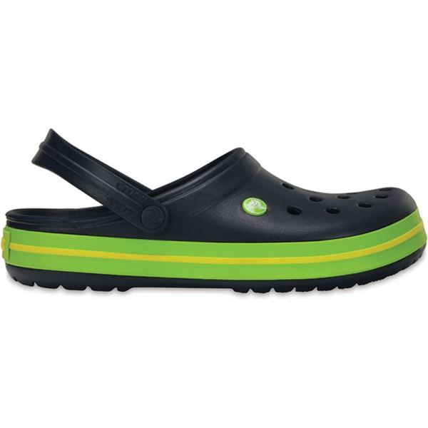 Unisex boty Crocs Crocband™ Clog tmavě modrá/zelená