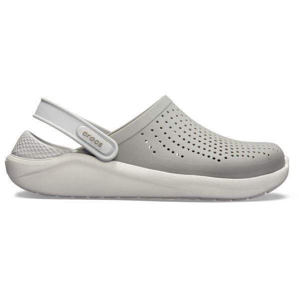 Dámské boty Crocs LiteRide Clog šedá/bílá