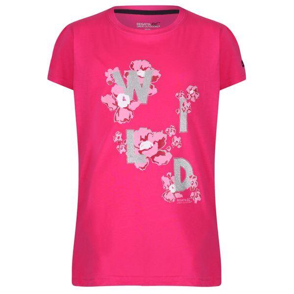 Dětské tričko Regatta BOSLEY II růžová
