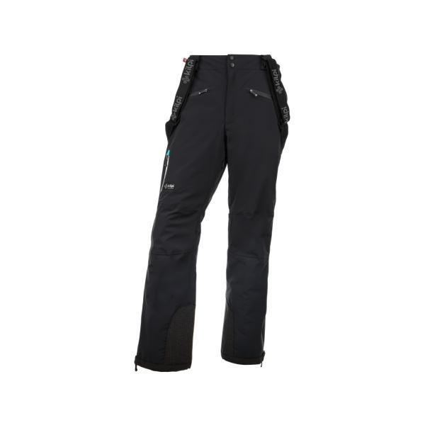 Pánské lyžařské kalhoty KILPI TEAM PANTS-M černá (kolekce 2019)