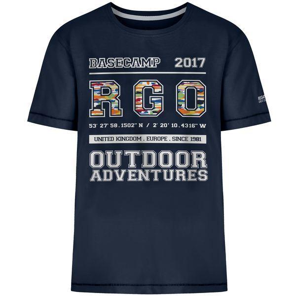 Dětské tričko Regatta BOBBLES II tmavě modrá