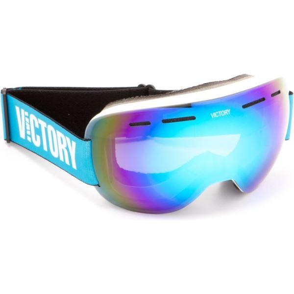 Unisex lyžařské brýle Victory SPV 615B bílá/modrá