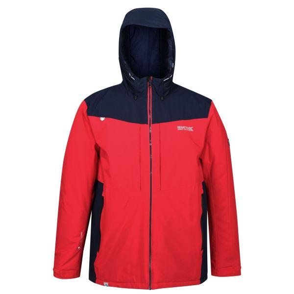 Pánská bunda Regatta HIGHTON modrá/červená