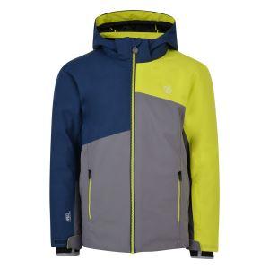 Dětská zimní bunda Dare2b CHANCER modrá/zelená