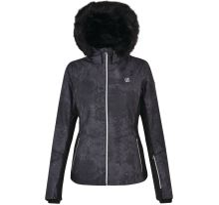 Dámská zimní lyžařská bunda Dare2b ICEGLAZE černá