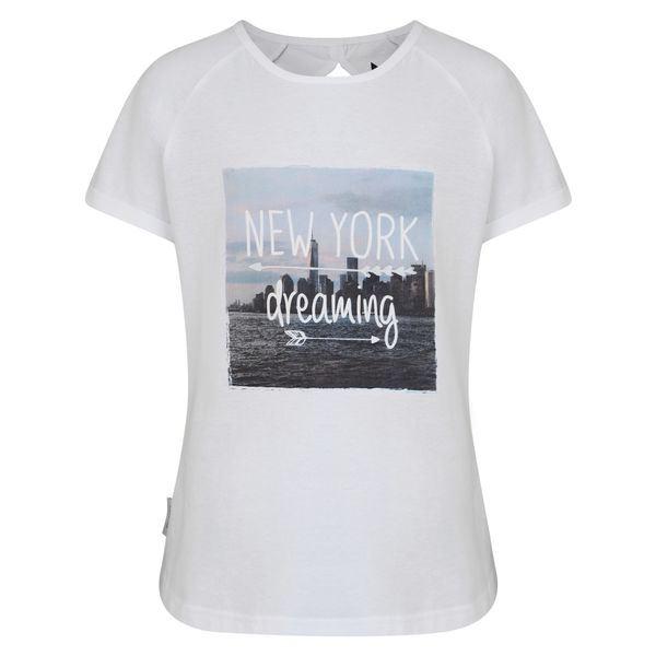 Dívčí tričko Dare2b CUT OUT bílá