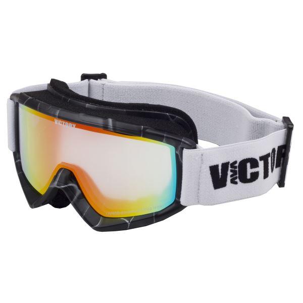 Dětské lyžařské brýle Victory SPV 630 černá