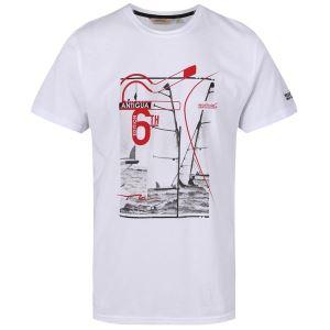 Pánské tričko Regatta Cline III bílá