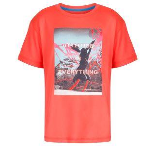 Dětské funkční tričko Regatta ALVARADO III oranžová