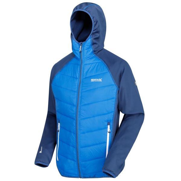 Pánská bunda Regatta ANDRESON IV Hybrd modrá/tmavě modrá