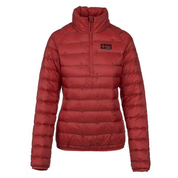 Dámská prošívaná bunda KILPI EDMON-W červená