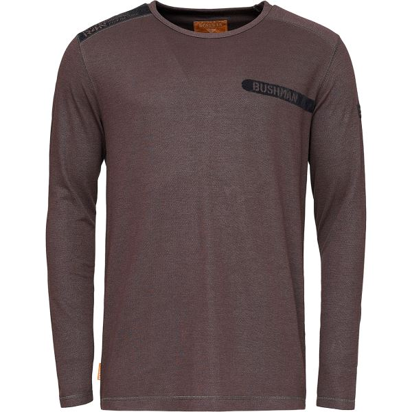 Pánské tričko BUSHMAN SHERWOOD tmavá šedá