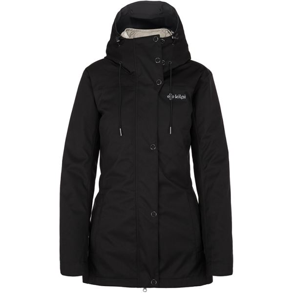 Dámská zimní bunda 2 v 1 KILPI IVAR-W černá