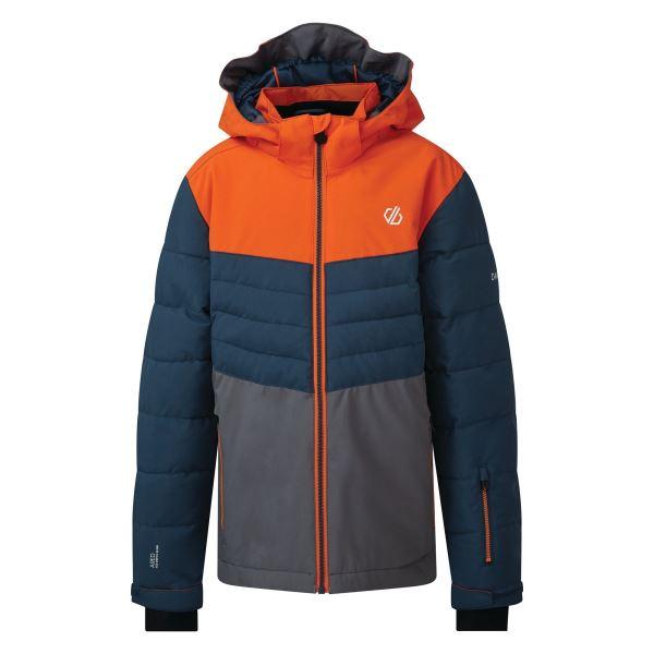Dětská zimní bunda Dare2b FREEZE UP modrá/oranžová