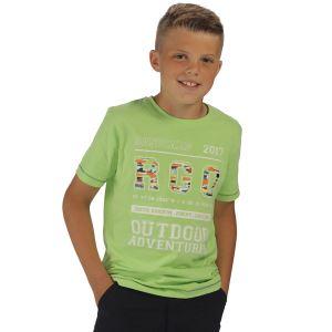 Dětské tričko Regatta BOBBLES II zelená