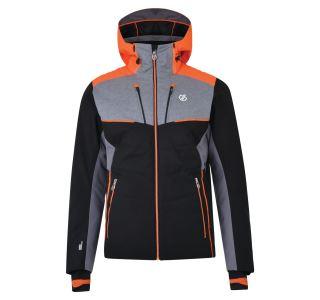 Pánská zimní lyžařská bunda Dare2b INHERENT černá/šedá