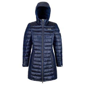 Dámský prošívaný kabát Regatta ANDEL tmavě modrá