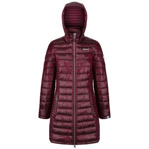 Dámský prošívaný kabát Regatta ANDEL červená