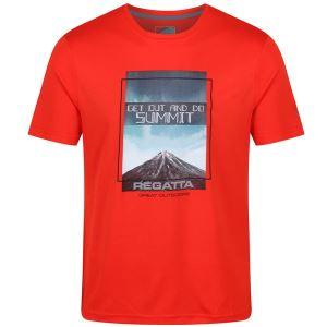 Pánské tričko Regatta FINGAL III oranžová