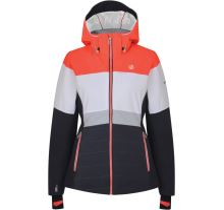 Dámská zimní lyžařská bunda Dare2b AVOWAL šedá/bílá