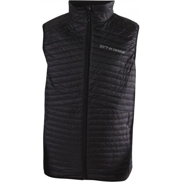 Pánská prošívaná vesta 2117 AXTORP černá