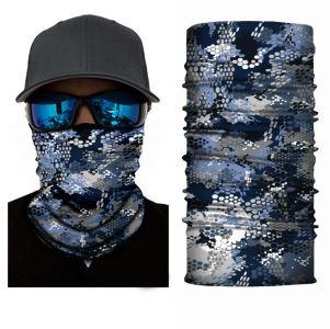 Unisex multifunkční šátek/nákrčník modrá S71