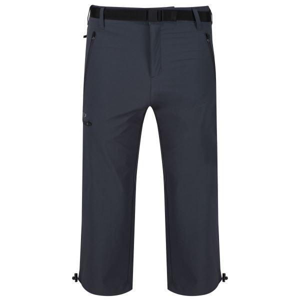 Pánské 3/4 kalhoty Regatta XERT Capri II šedá
