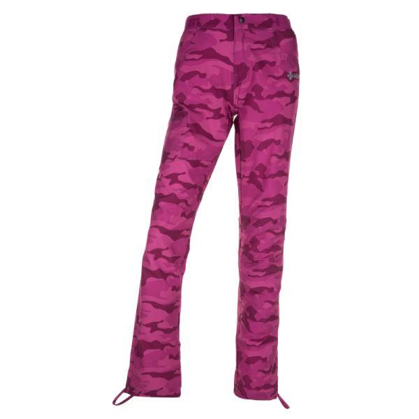 Dámské outdoorové kalhoty KILPI MIMICRI-W růžová