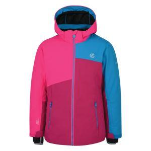 Dětská zimní bunda Dare2b CHANCER růžová/modrá