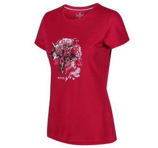Dámské tričko Regatta FINGAL IV tmavě růžová