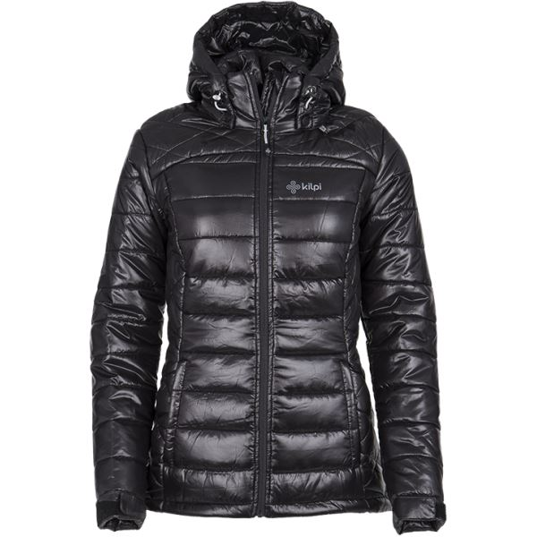 Dámské zimní prošívaná bunda KILPI GIRONA-W černá