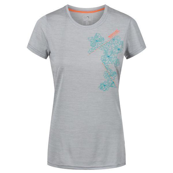 Dámské tričko Regatta FINGAL IV šedá