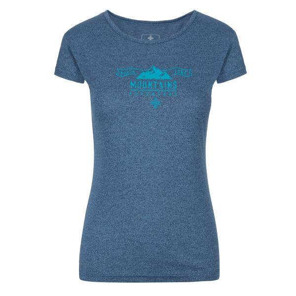 Dámské tričko KILPI GAROVE-W modrá