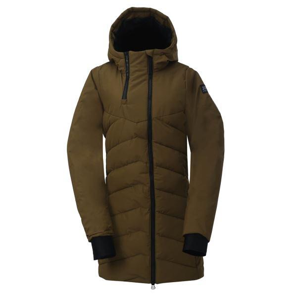 Pánský zateplený kabát 2117 ELLANDA zelená
