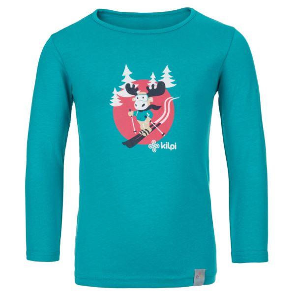 Dětské tričko KILPI LERO-J tyrkysová
