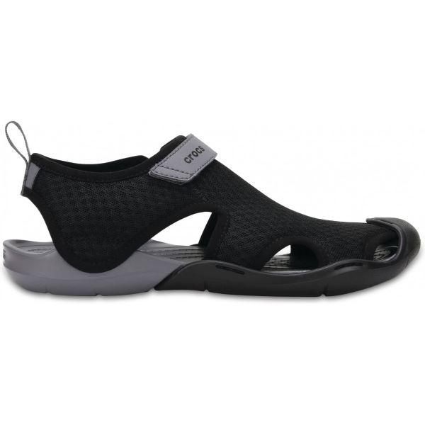 Dámské boty Crocs Swiftwater Mesh Sandal černá