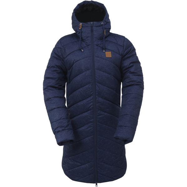 Dámský zimní kabát 2117 HINDAS tmavě modrá