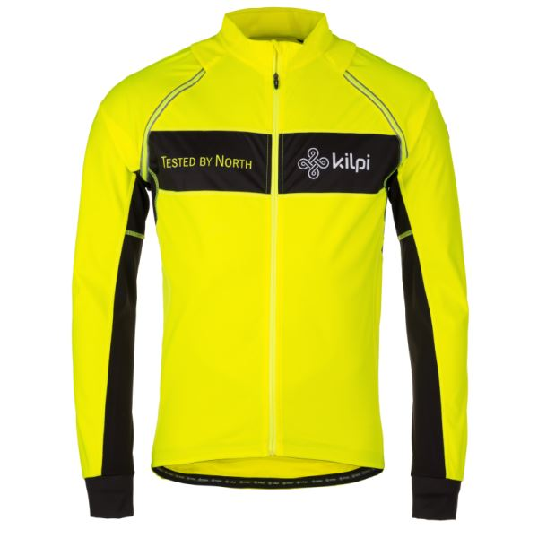 Pánská funkční bunda KILPI ZESTER-M žlutá