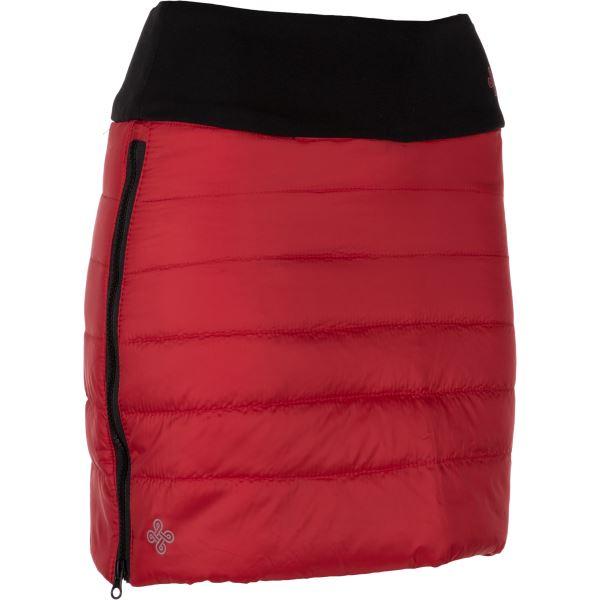 Dámská zimní zateplená sukně KILPI MATIRA-W červená