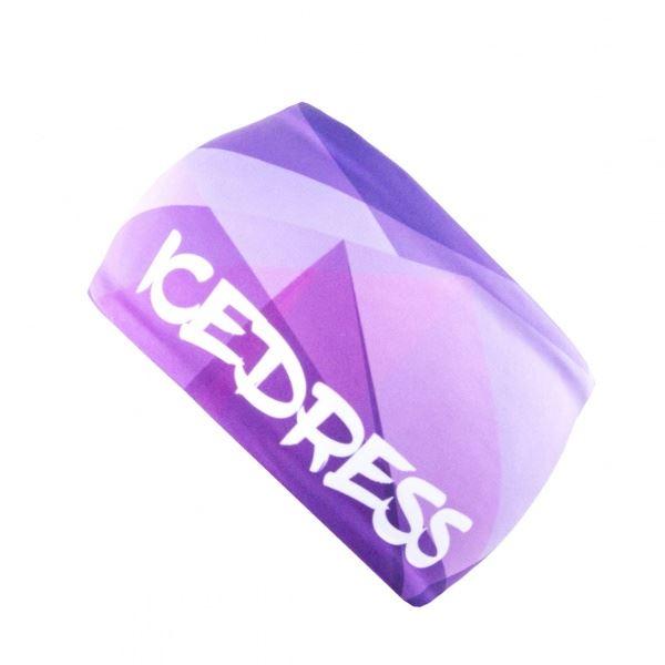 Univerzální funkční čelenka IceDress TRIANGL IV fialová