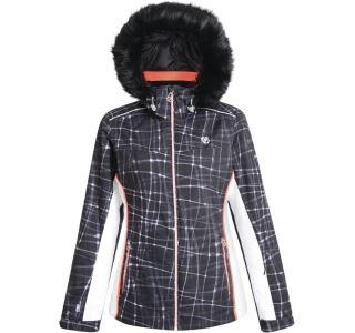Dámská zimní lyžařská bunda Dare2b COPIUS černá/bílá
