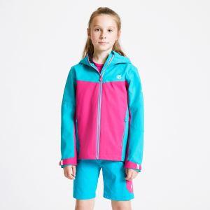 Dětská bunda Dare2b IN THE LEAD modrá/růžová