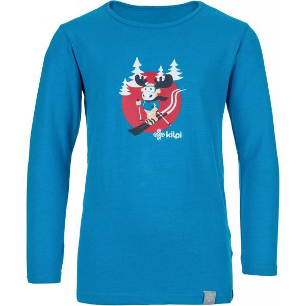 Dětské tričko KILPI LERO-J modrá